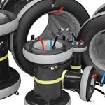 Large diameter pipe purging with HFT®